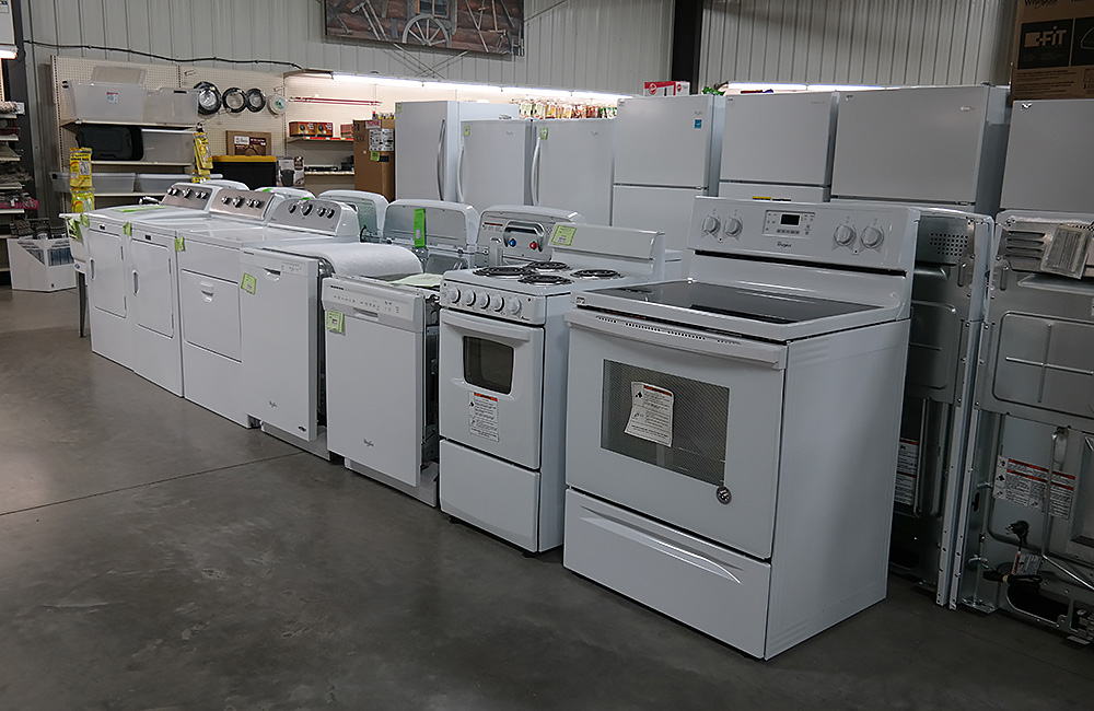 Appliances at Stockman's